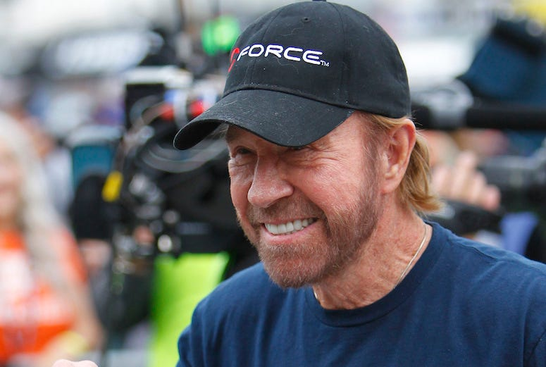 Chuck Norris, Texas Motor Speedway, 2016