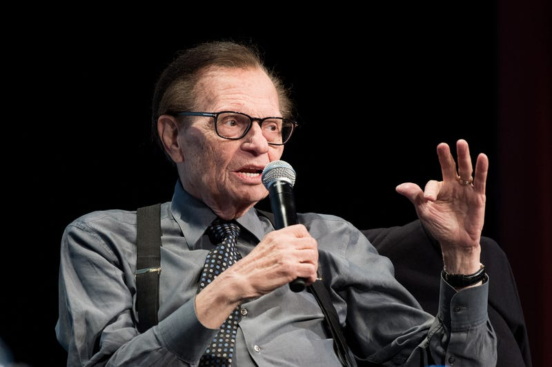 Larry King in 2017