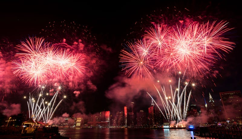 Macy's 4th of July Fireworks in New York City on July 4, 2017