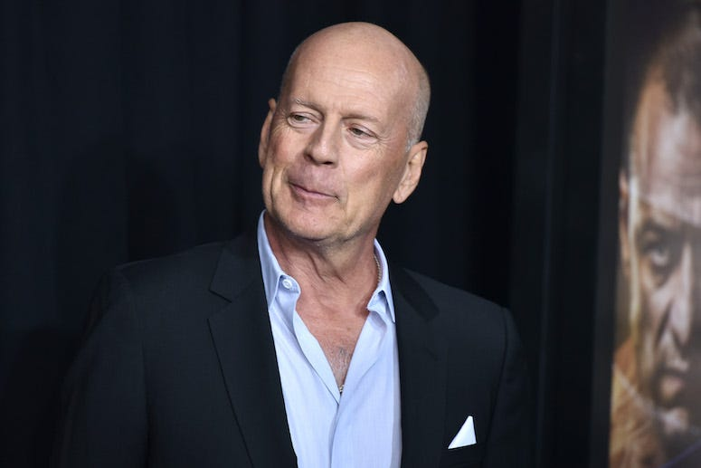 Bruce Willis, Red Carpet, GLASS premiere, 2019