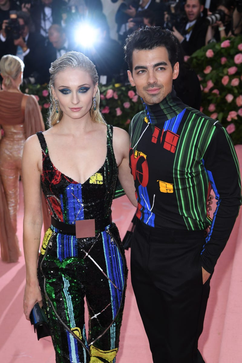 joe jonas and sophie turner in weird camp outfits for met gala 2019