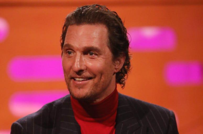 Matthew McConaughey, Turtleneck, 2019