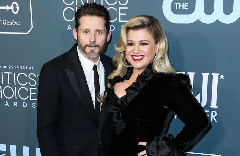 Brandon Blackstock, Kelly Clarkson, Red Carpet, 25th Annual Critics' Choice Awards, 2020