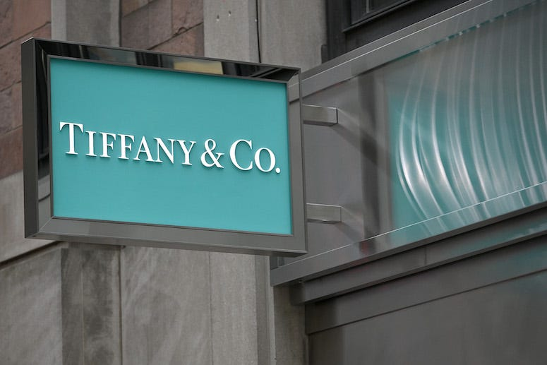 Tiffany & Co. flagship store sign