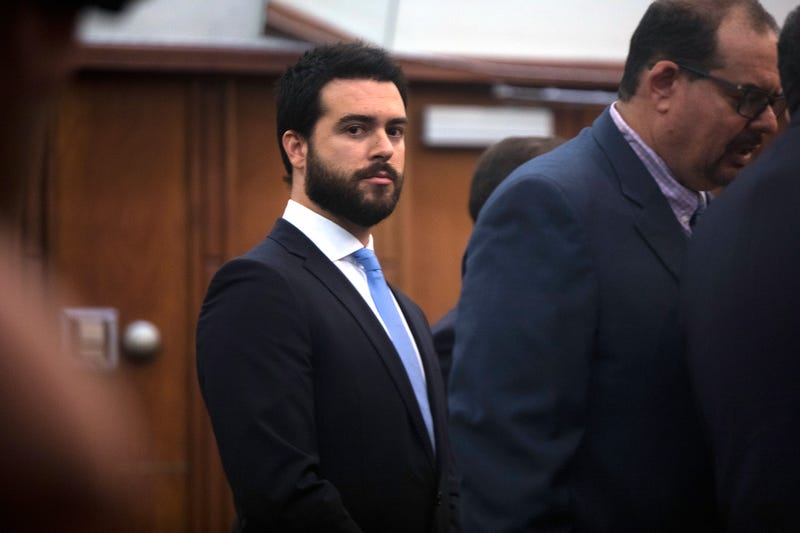 Mexican actor Pablo Lyle alongside his attorneys in front of Judge Marlene Fernandez-Karavetsos at Richard E. Gerstein Justice Building on Wednesday, Jan. 15, 2020 in Miami.