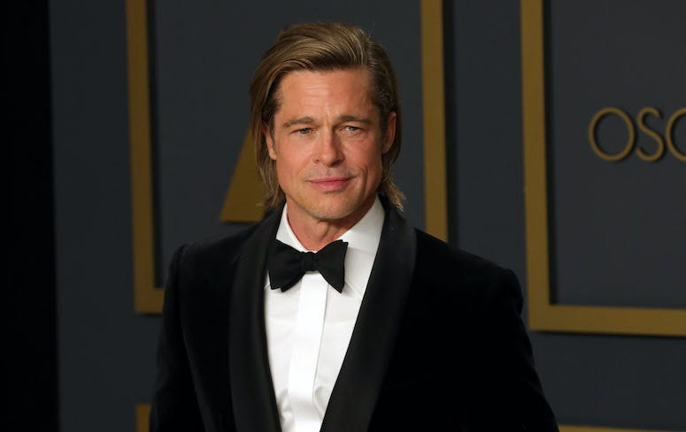 Brad Pitt, Red Carpet, 92nd Annual Academy Awards, 2020
