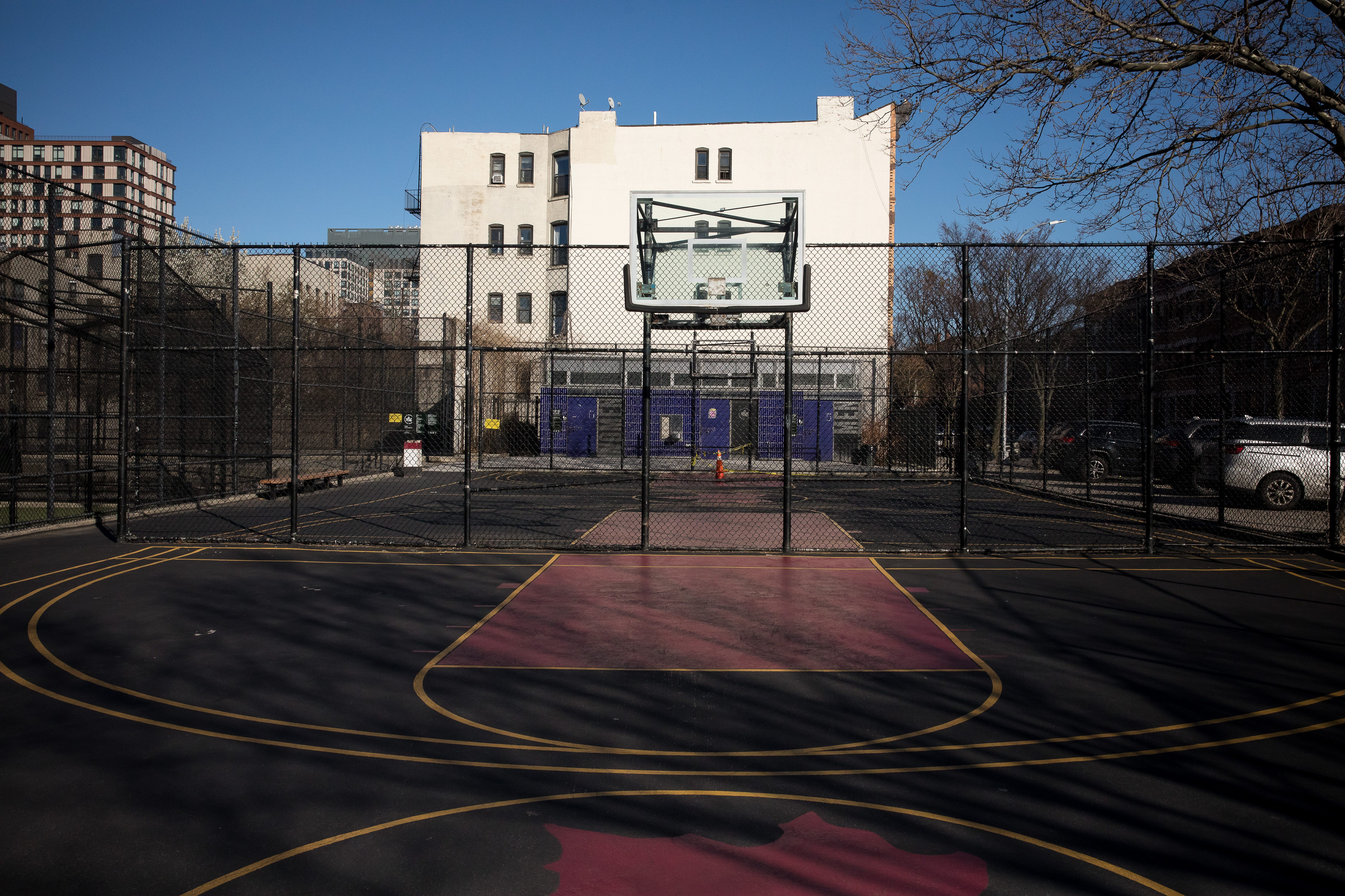 Basketball Hoops Taken Down In Major
