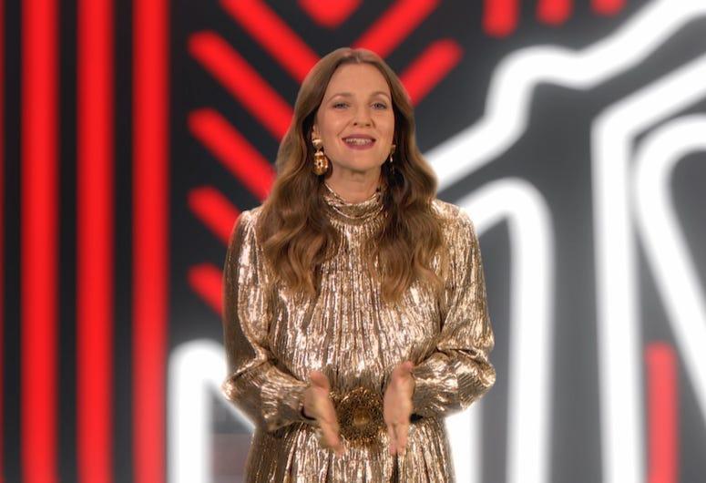 Drew Barrymore, 2020 MTV Video Music Awards