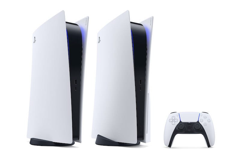 Playstation 5, PS5, Controller, Isolated, White Background