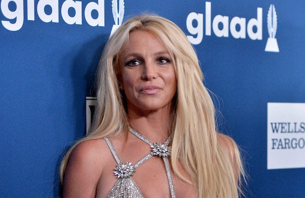Britney Spears at the 29th Annual GLAAD Media Awards