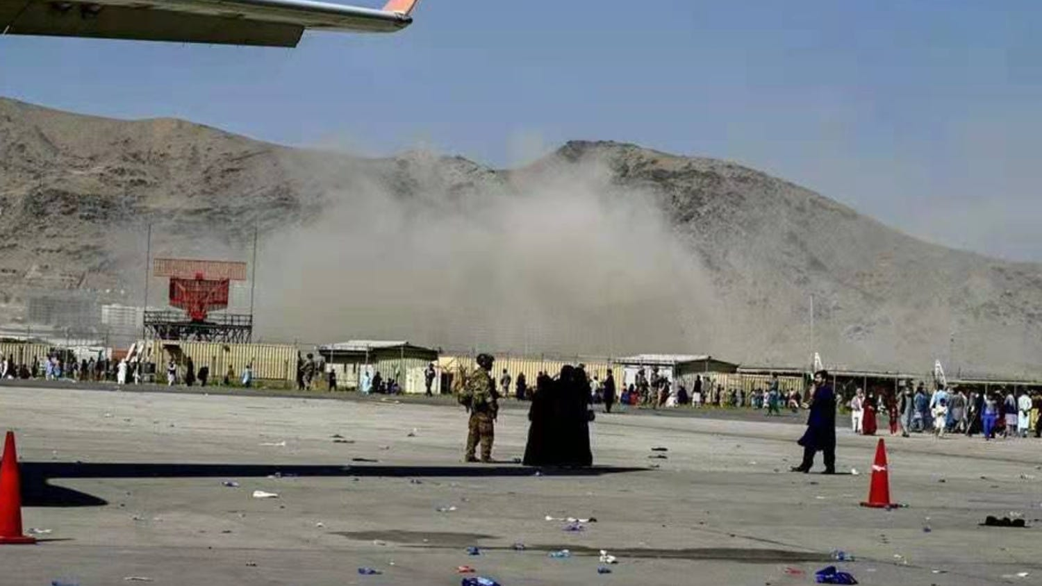 Suicide bombers strike Kabul airport as US scrambles to complete evacuation mission