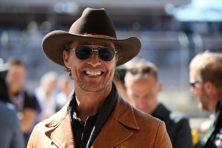 Matthew McConaughey, Formula 1 World Championship, Austin, 2019