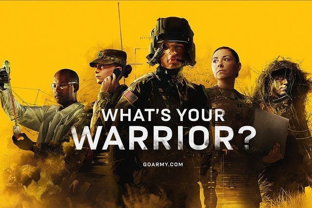 US Amry Whats Your Warrior ad campaign