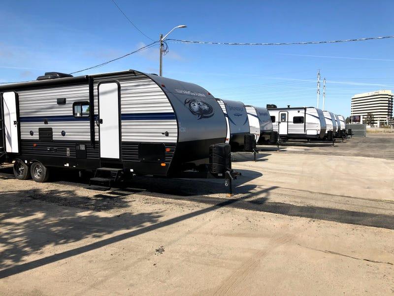 San Jose closes an emergency RV homeless park set up during the coronavirus pandemic