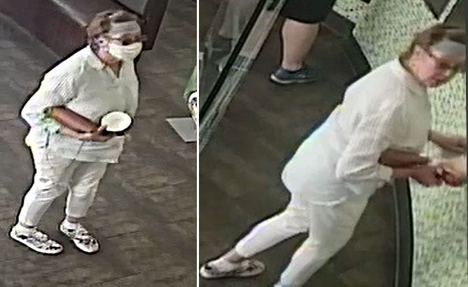 SJ Police are looking for a woman they say deliberately coughed on a baby after a dispute over social distancing