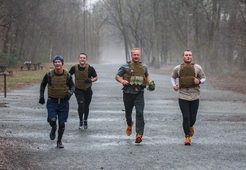 Shepherds Men team members take part in the 2016 event