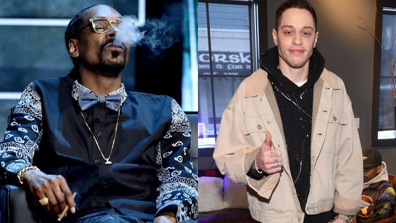 Snoop Dogg and Pete Davidson