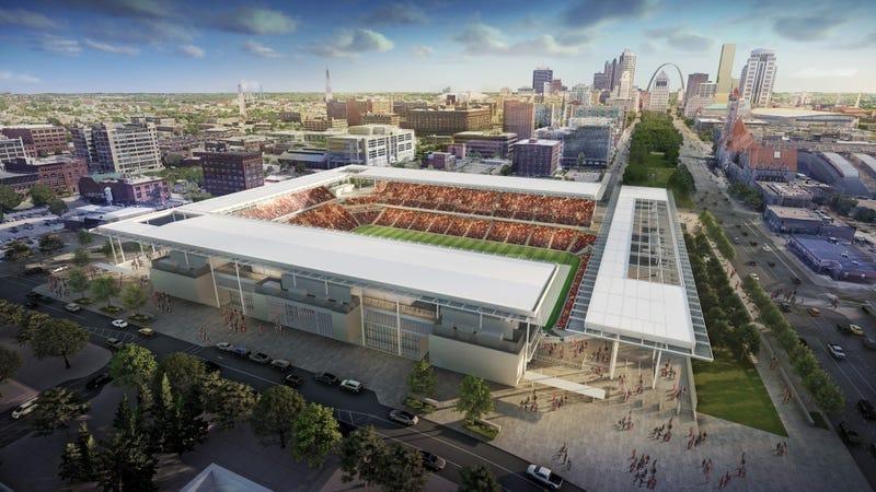 soccer stadium rendering