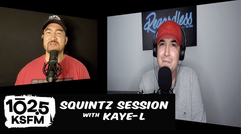Squintz Session with Kaye-L