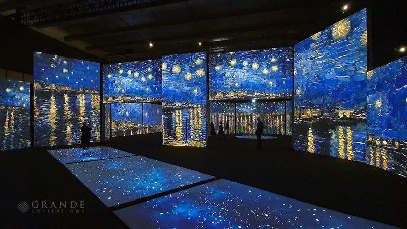 Immersive Van Gogh exhibit comes to the U.S. in 2021