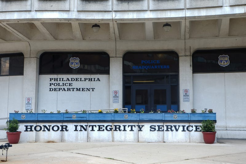 Philadelphia Police Department headquarters.