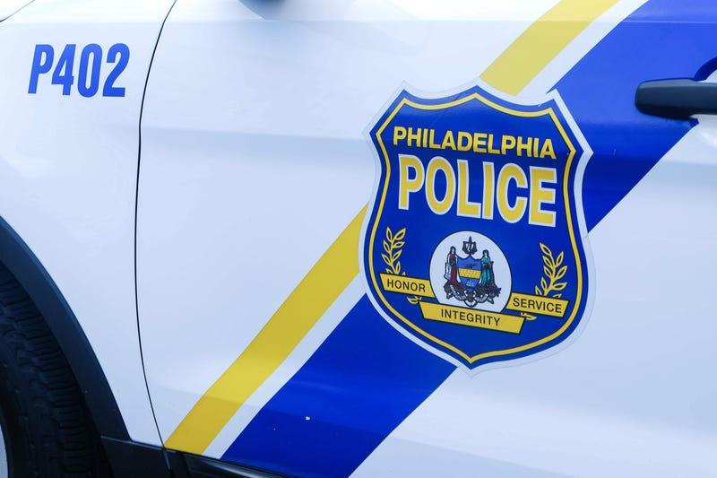 Philadelphia police vehicle