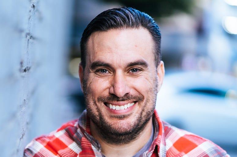 Comedian Steve Simeone