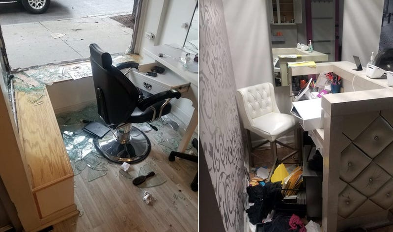 Looting Damage Chicago Hair Imports