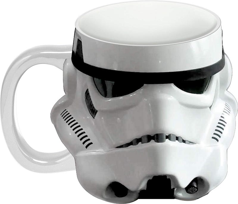 Star Wars Storm Trooper Sculpted Ceramic Mug