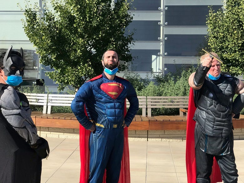 Stanford Superhero Day