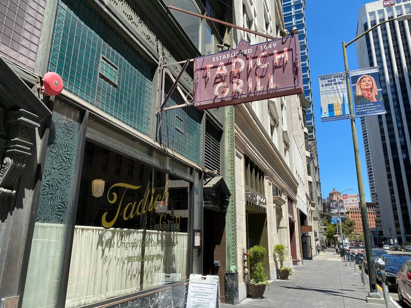 San Francisco's historic Tadich Grill is closing Friday as its loan money has run out.