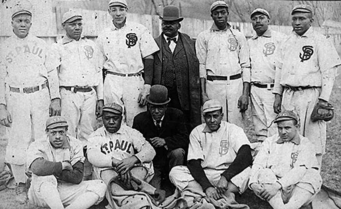 The St. Paul Gophers Black baseball team
