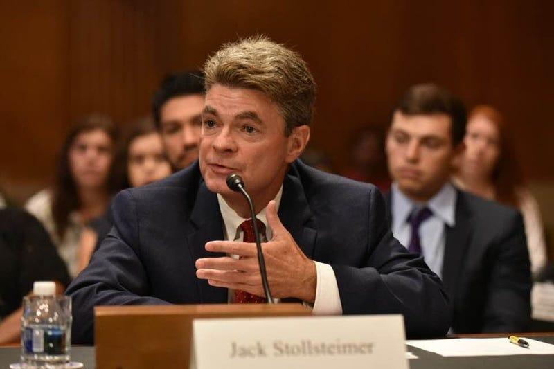 Jack Stollsteimer testifying at Senate.