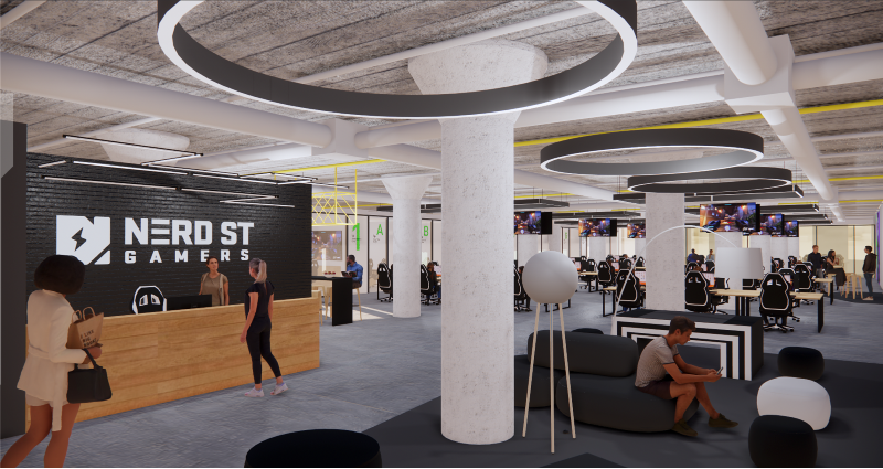 """Renderings of """"The Block"""" esports center that will be built in Philadelphia"""