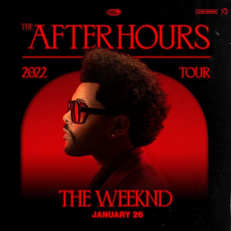 The Weeknd Jan 26 Fiserv Forum