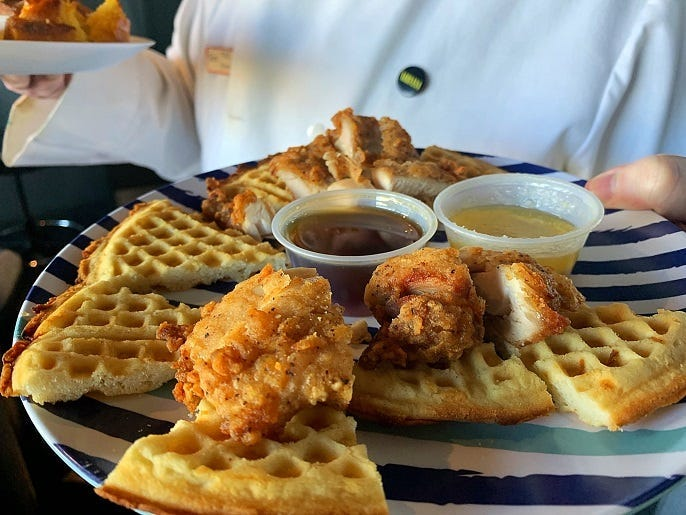 Fat's Chicken and Waffles!