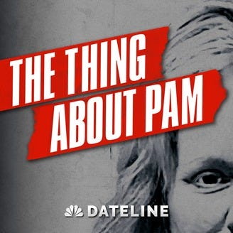 the thing about pam podcast cover