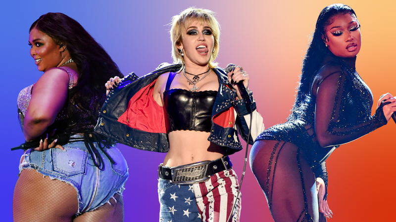 Lizzo, Miley Cyrus, Megan Thee Stallion