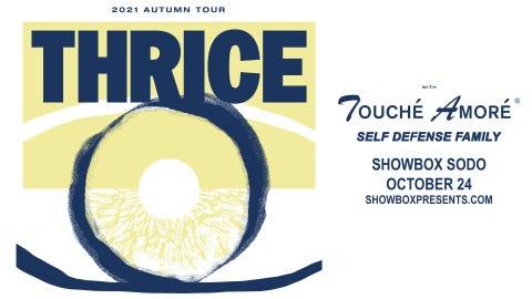 Thrice - 2021 Autumn Tour