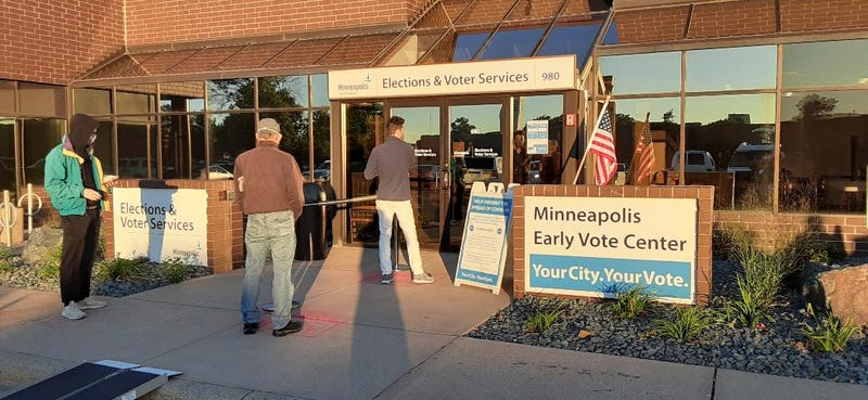 Early voting in Minneapolis