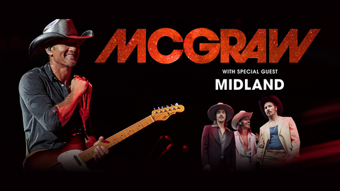 Tim McGraw with special guest Midland at 2021 Minnesota State Fair Grandstand