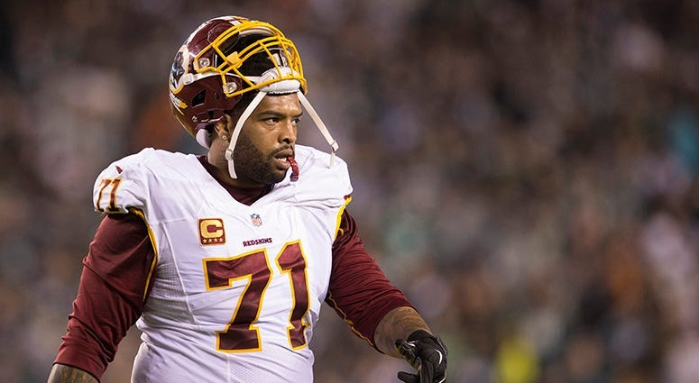 Trent Williams fails physical with Redskins