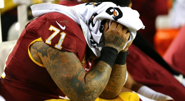 Trent Williams wants out now, requests trade through agent