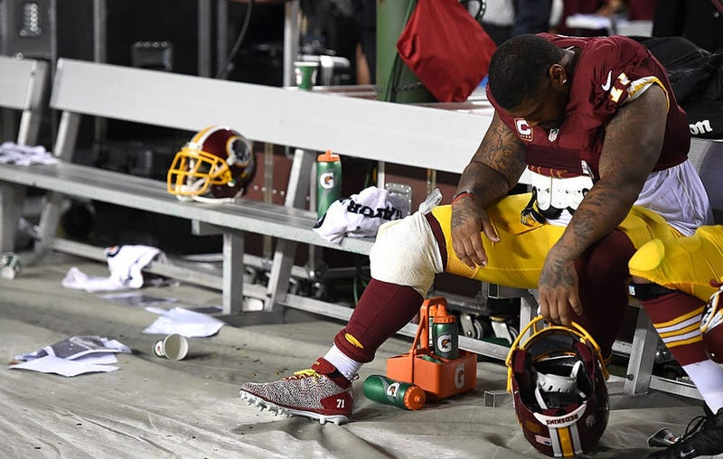 Trent Williams future uncertain after detailing cancer scare