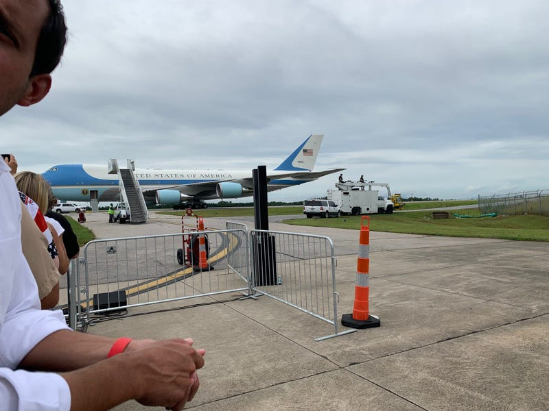 Trump Visits GSP on August 24th - Steve Sinicropi