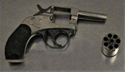 Gun stopped by TSA agents at PIT International on May, 15, 2020