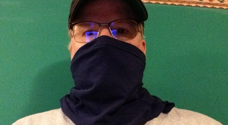 How To Make A Face Covering With A T-Shirt