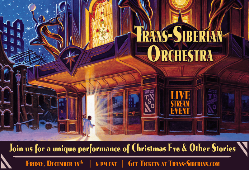 Picture of Trans-Siberian Orchestra Live-Stream Event Poster