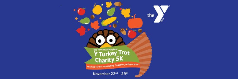 The Y Turkey Trot Charity 5K Logo 2020