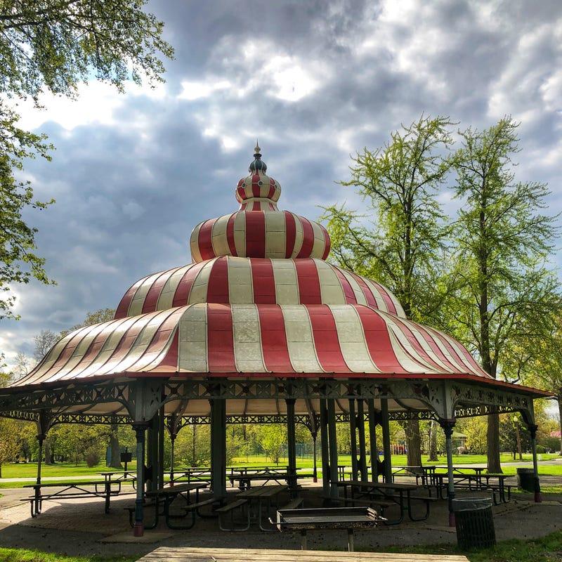 Turkish Pavilion at Tower Grove Park